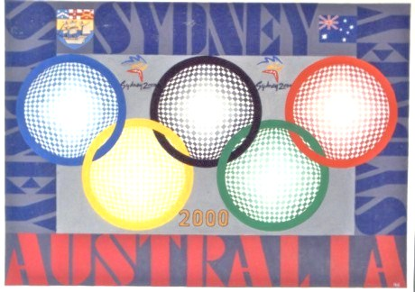 341 - Sydney 2000 - Olympic Games - N.Hoogenboom Jr. [60x40]